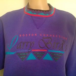 Tops - VINTAGE LARRY BIRD CONNECTION SWEATSHIRT XL 90S